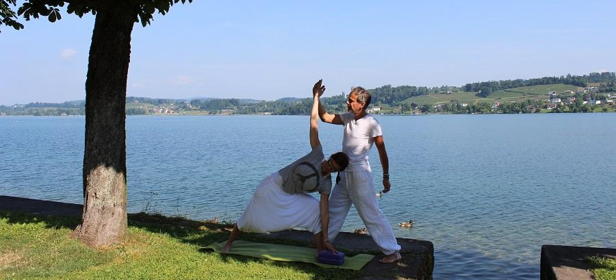 Yoga hilft bei Stress, Erschöpfung und Burnout