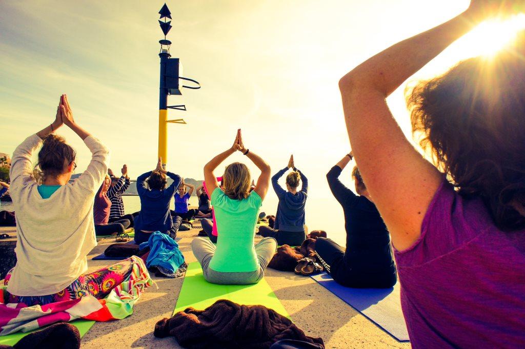 Yogaferien auf Mallorca mit Stress Auszeit