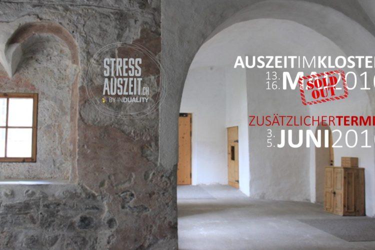 Auszeit im Kloster: Zusatztermin für Deine Auszeit vom Stress