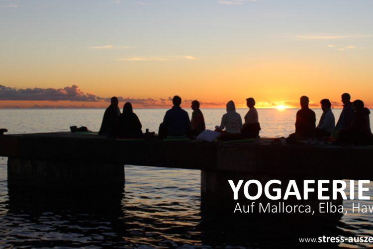 Yogaferien am Meer