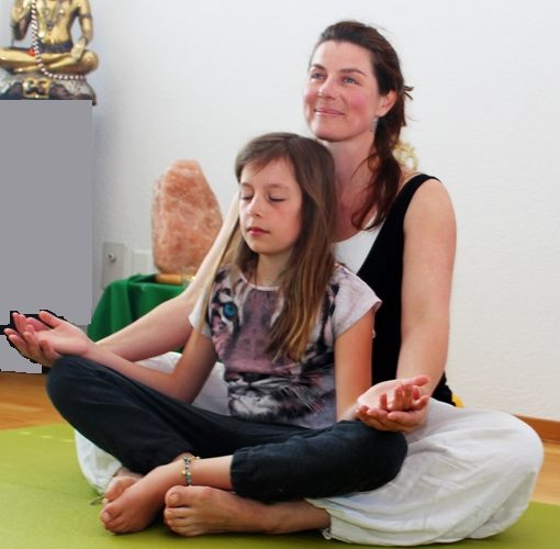 Meditation für Kinder beim Festival of Love