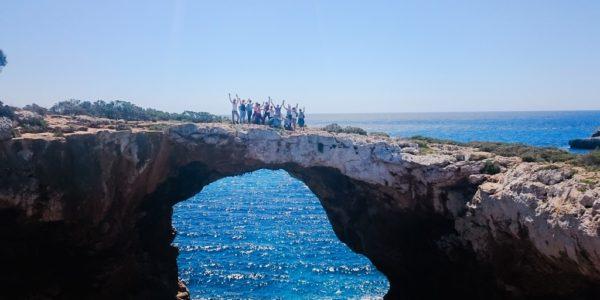 Wanderung Yogaferien Felsenbrücke