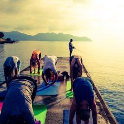 Yogaferien am Meer Angeln Internet
