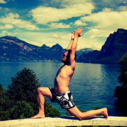 Yogafestival mit Pascal