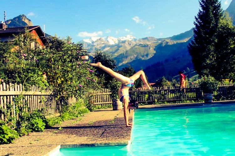 Yoga Wochenende in den Schweizer Bergen