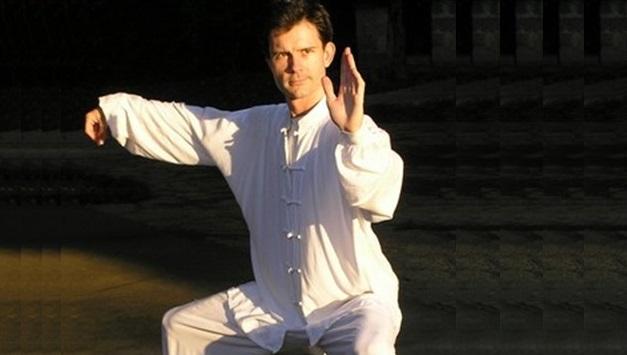 Anthony Fidler und Tai Chi am Yogafestival