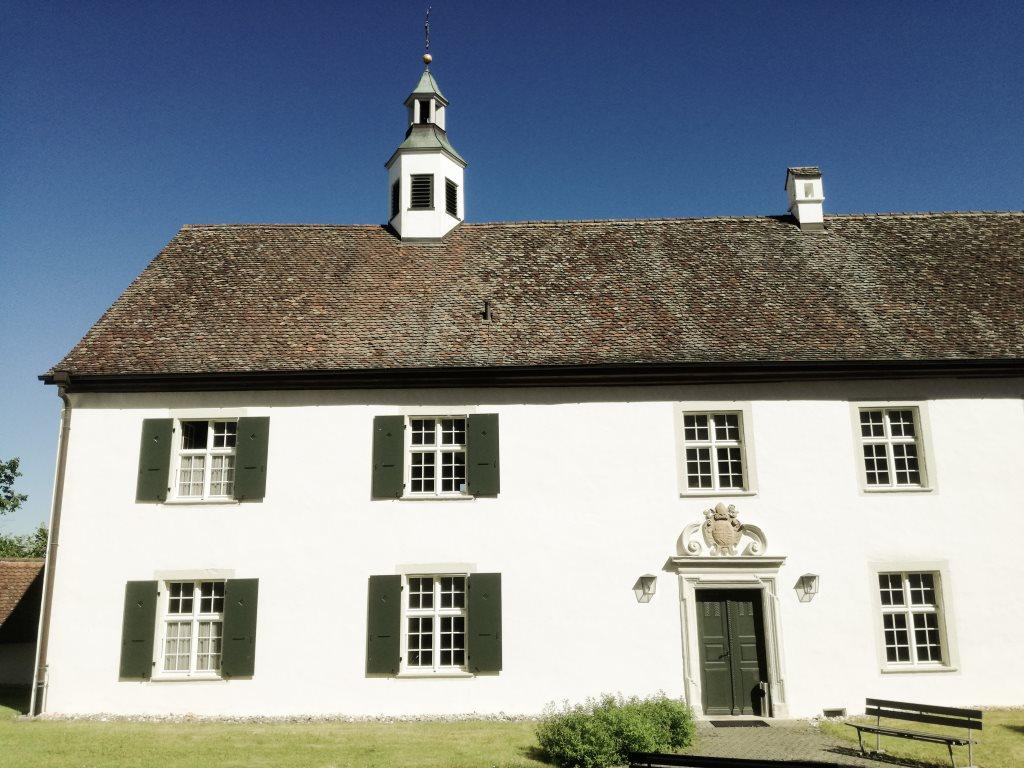 Unterkunft im Gästehaus des Klosters