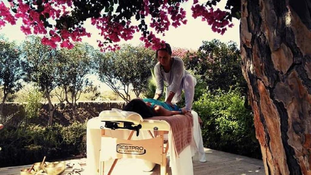 Massage mit Melysa