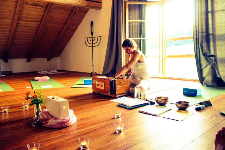 Yoga bei Stress und zur Entspannung