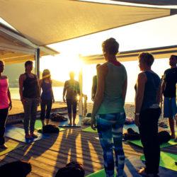 Sonnenaufgang Yoga