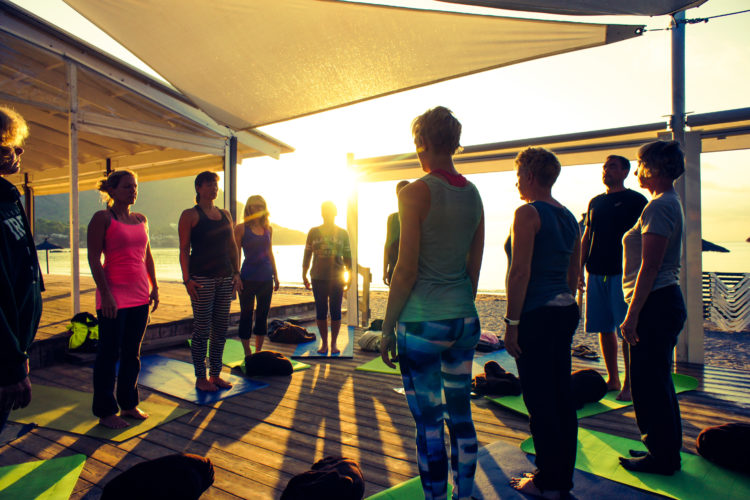 Yoga bei Stress