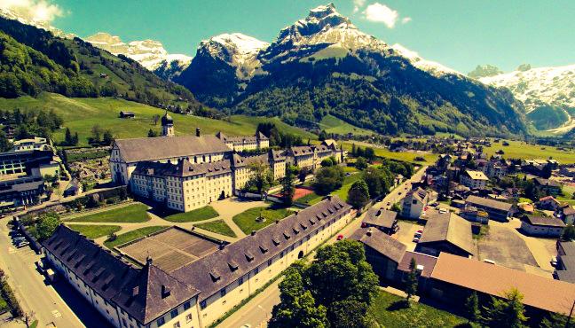 Auszeit nehmen im Kloster Engelberg