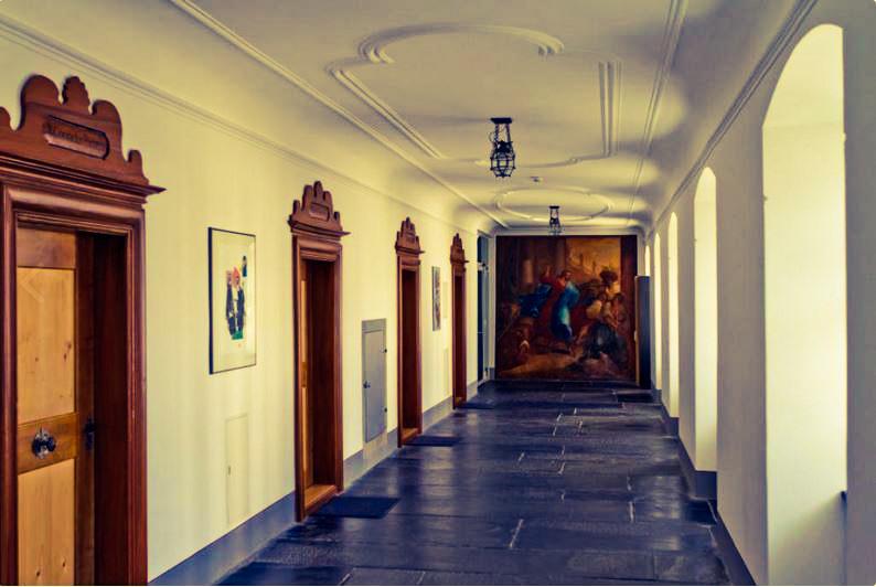 Auszeit im Kloster um zur Ruhe finden