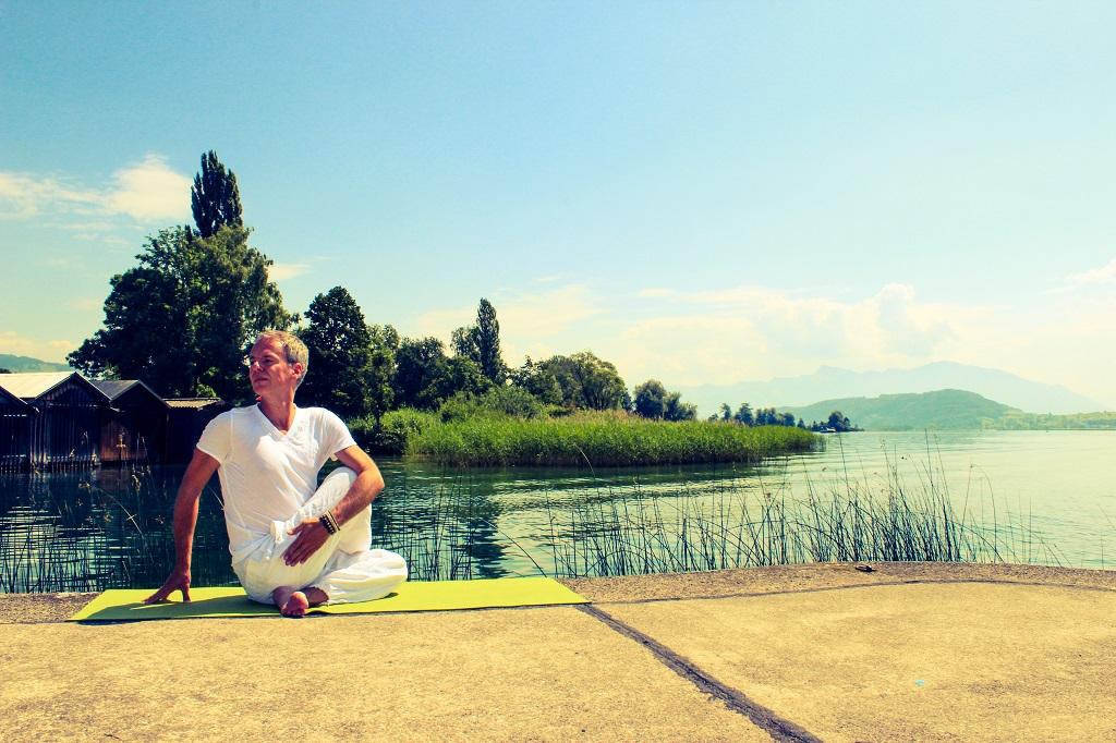 Yoga für Anfänger gibt Entspannung