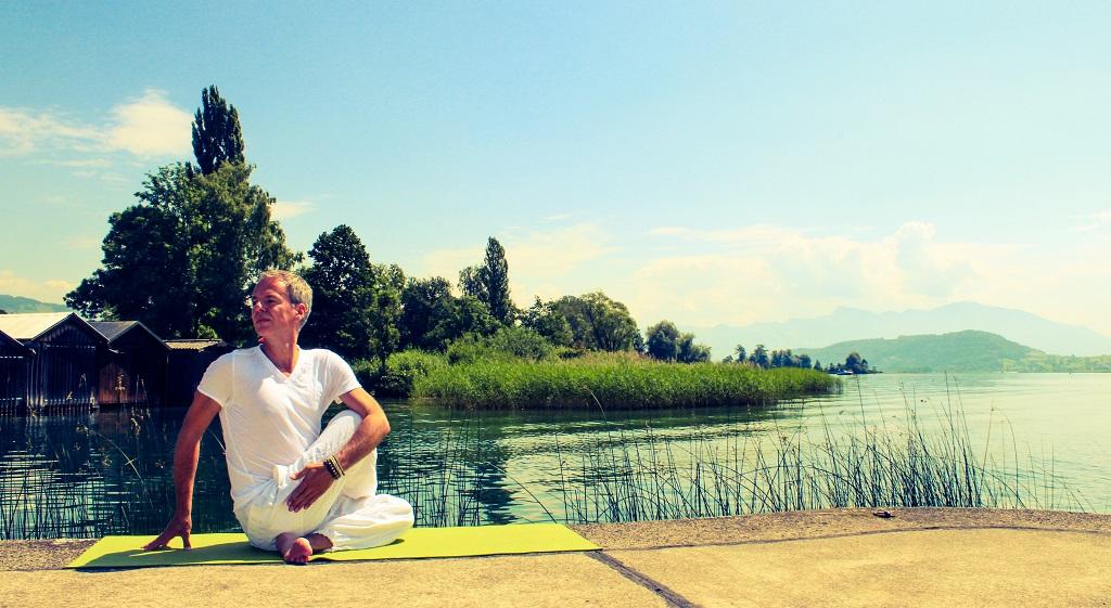 Entschleunigung mit Yoga