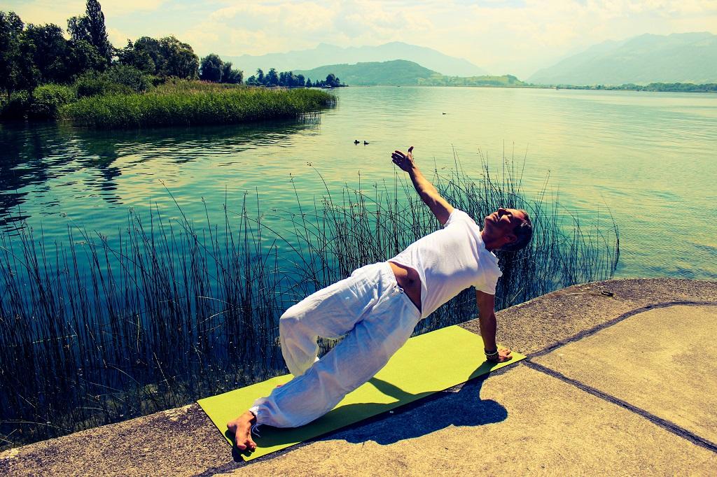 Atem bei der Meditation
