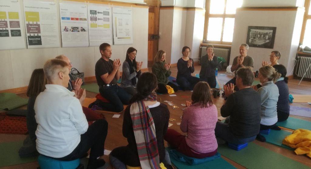 Auszeit im Kloster Meditation