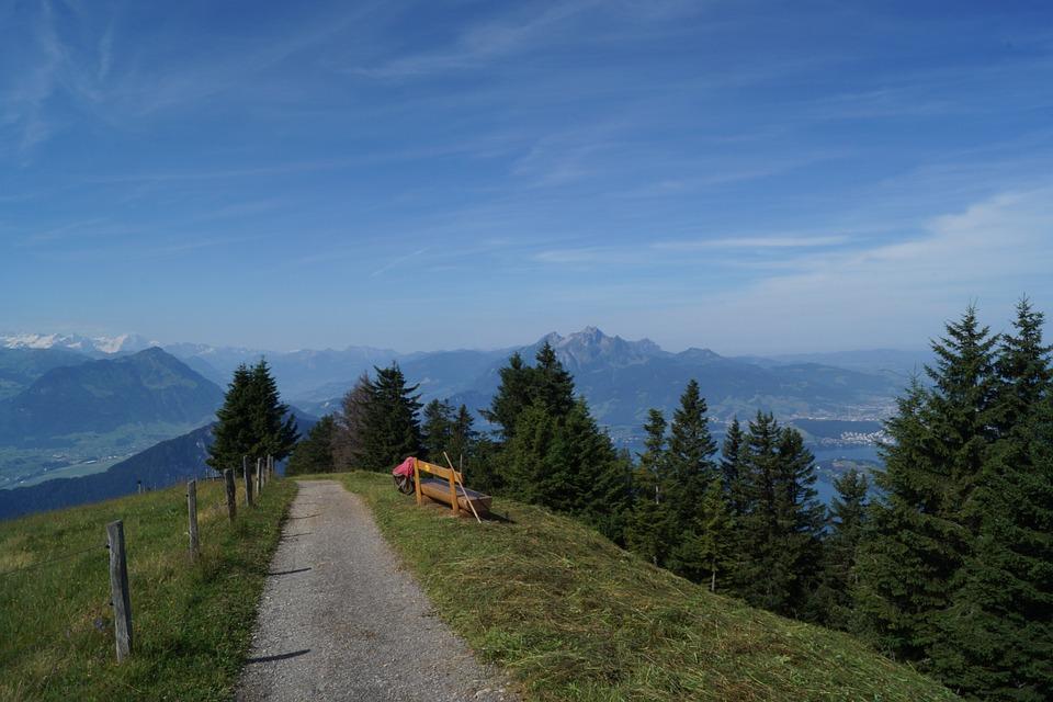 Wochenende in der Schweiz - Berglandschaft