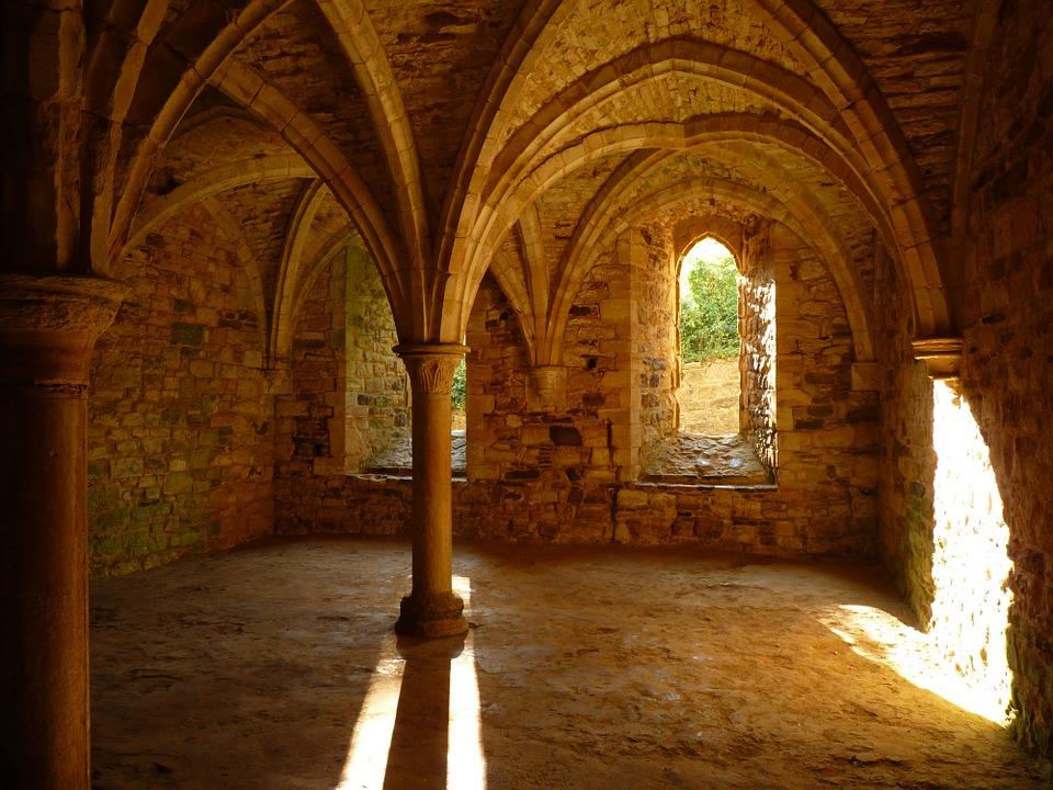 Kloster auf Zeit: Gemäuer eines Klosters