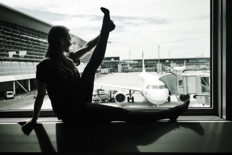 Annica Olsson am Yogafestival