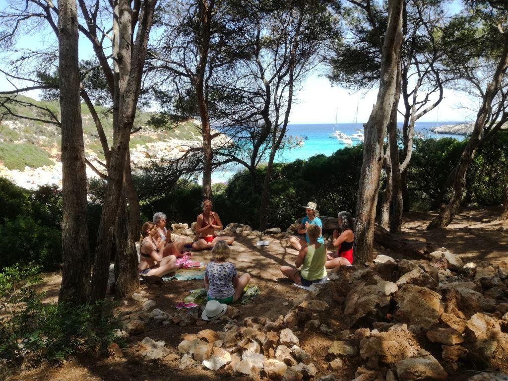 Ein meditationsurlaub für Entspannung