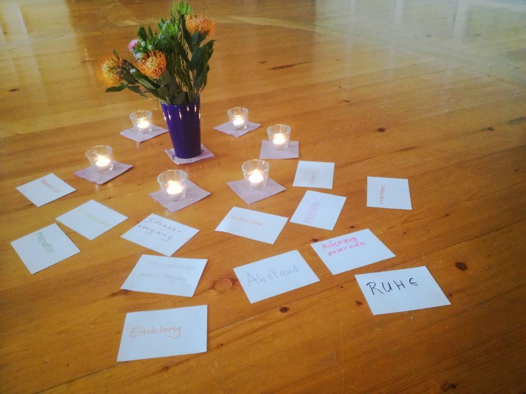 Umgang mit Stress Workshop Seminar