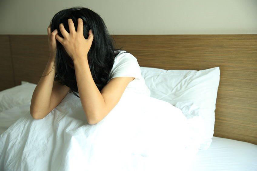 Schlechter Schlaf kann auf Stress zurückzuführen sein