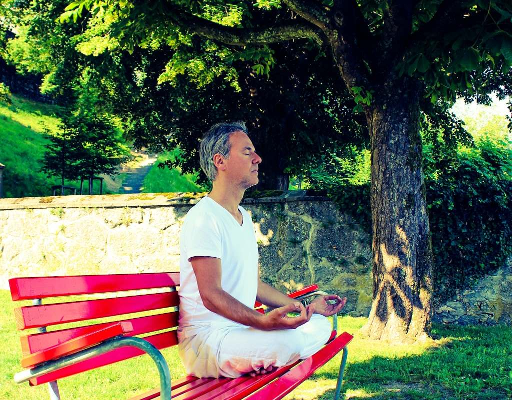 Meditieren um Stress abbauen zu können