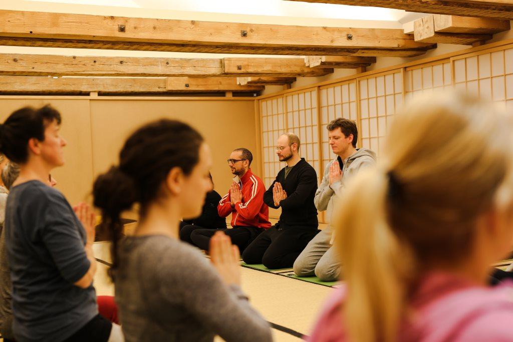 Meditieren im zur Ruhe zu kommen