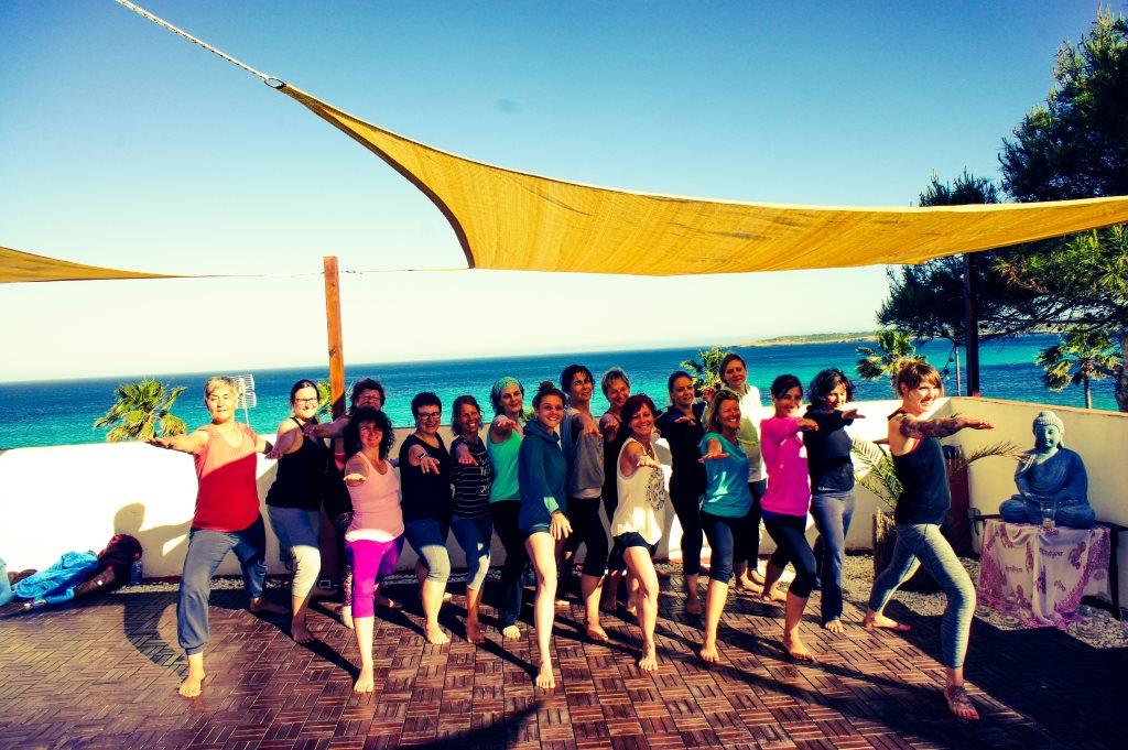 Yogaferien auf Mallorca direkt am Meer