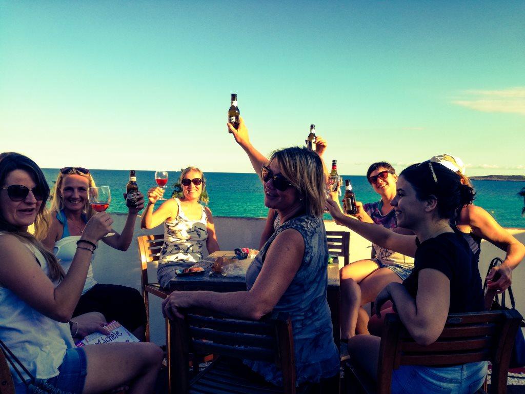 Viel Spass bei den Yogaferien am Meer auf Mallorca