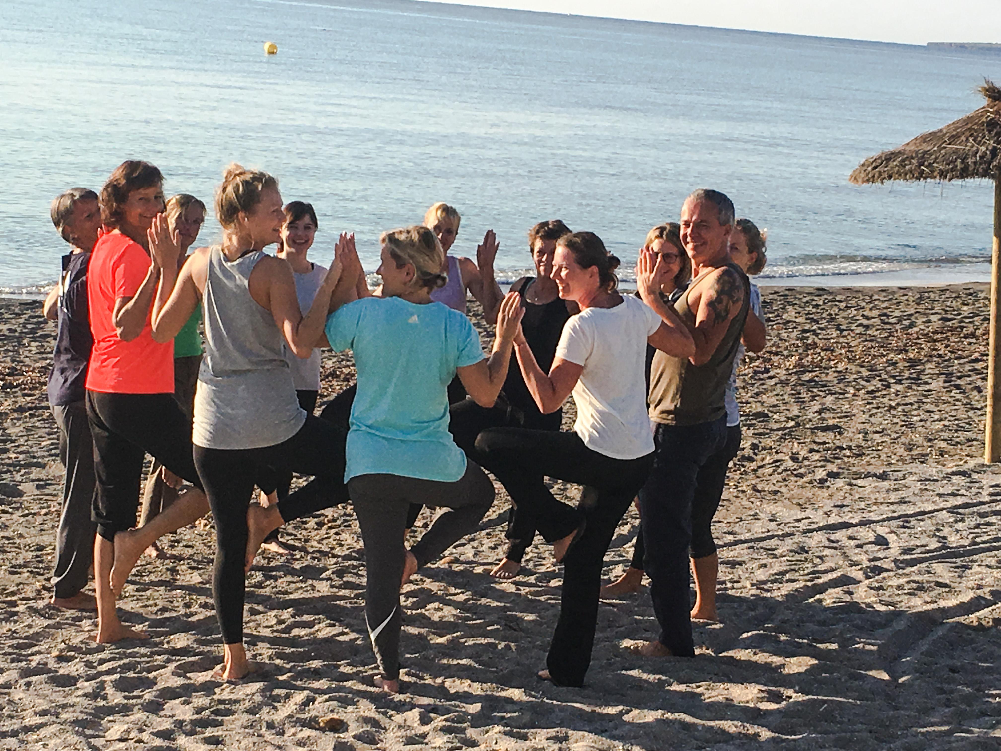 Yogaferien am Meer mit Stefan auf Mallorca