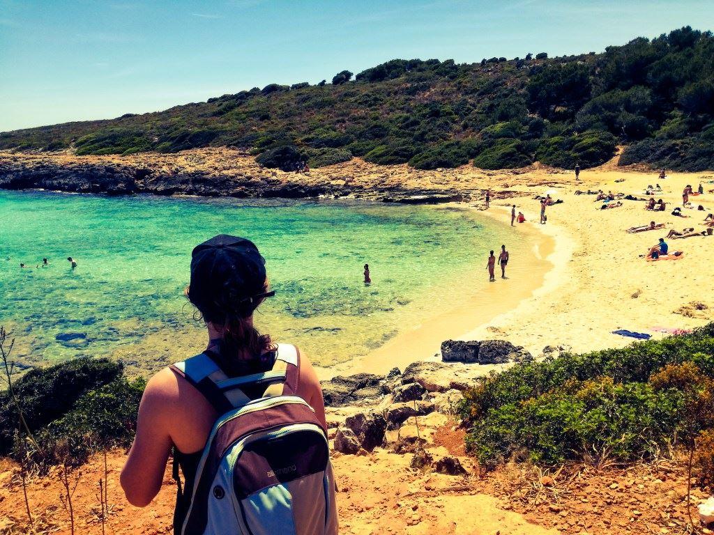 Romantsiche Küstenwanderung Yogaferien am Meer