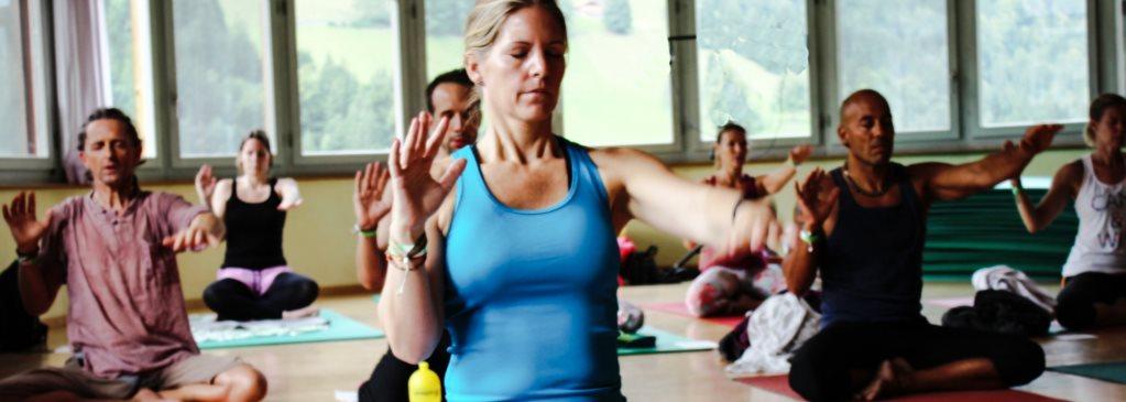 Bewusst Atmen beim Yoga