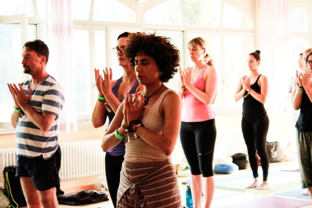 Eine Auszeit mit Yoga übers Weekend