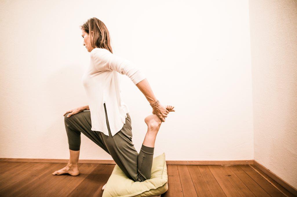 Yogastellung Anleitung: Natarajasana, Der Tänzer Hatha ...