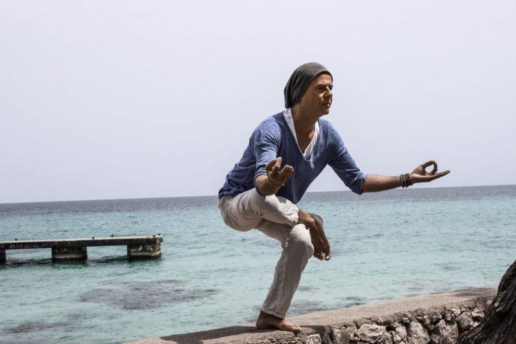 Yogastellung Anleitung: Natarajasana, Der Tänzer