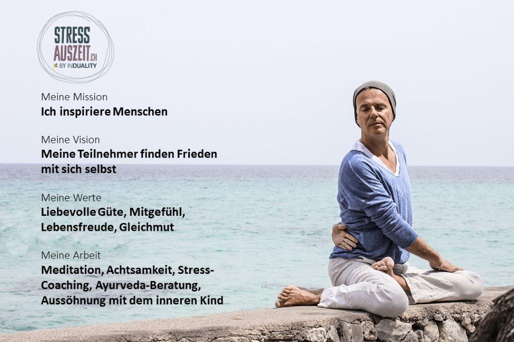 Stefan Geisse Yogalerher Meditationslehrer Achtsamkeit Stress Auszeit