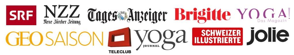 Stress Auszeit in den Medien: NZZ, Tagesanzeiger, SRF, Teleclub und viele anderen