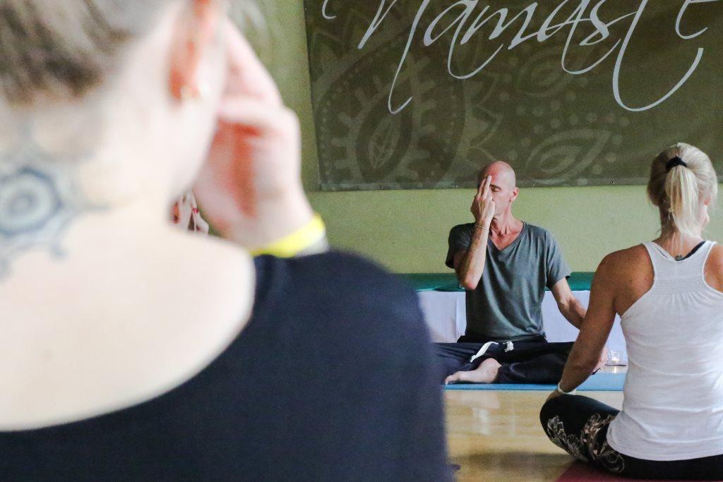 Yogafestival Summer of Love Pranayama