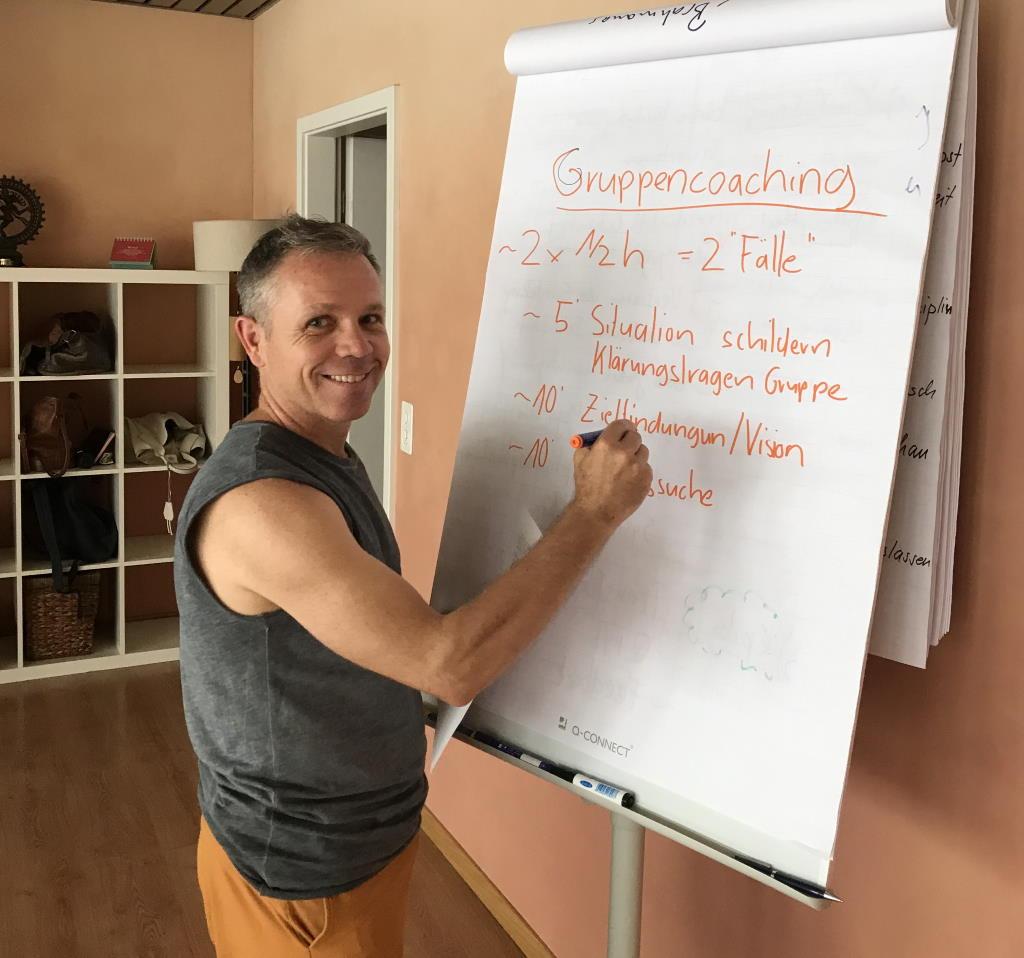 Pascal Portmann leitet Workshops am YogaVeda Tag beim Yogafestival