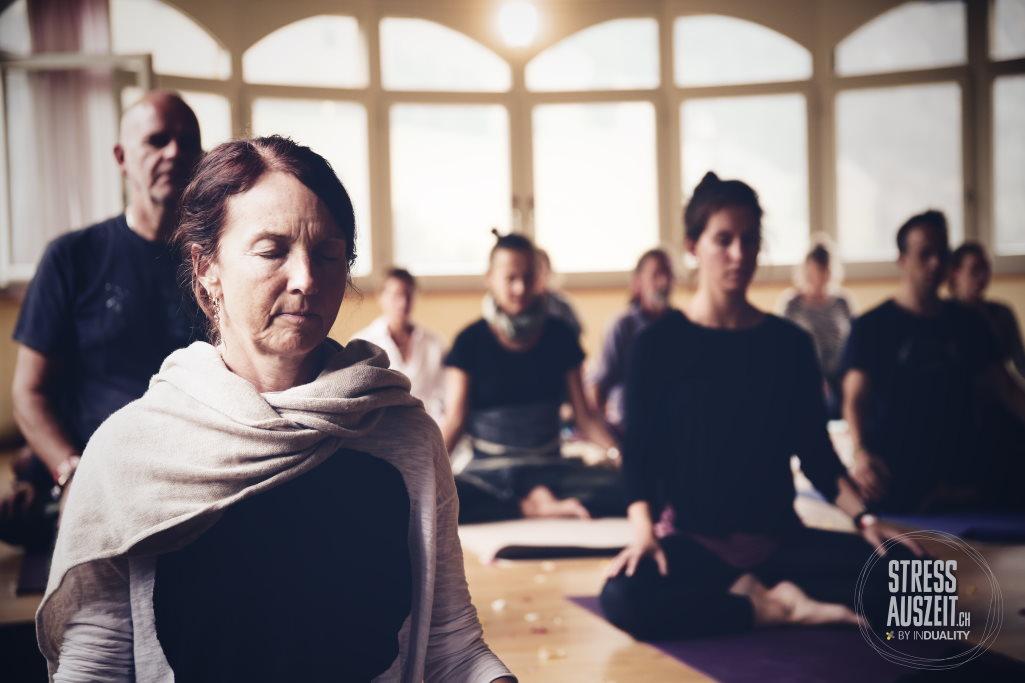 Meditation bei den Yogaferien