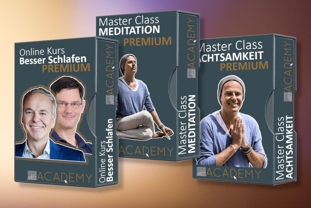 Online Kurse mit Stefan Geisse Achtsamkeit, meditation besser Schlafen